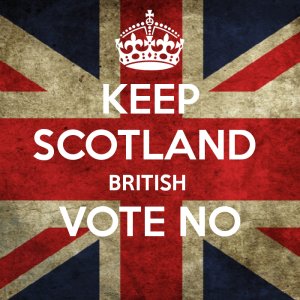 Keep calm and vote NO