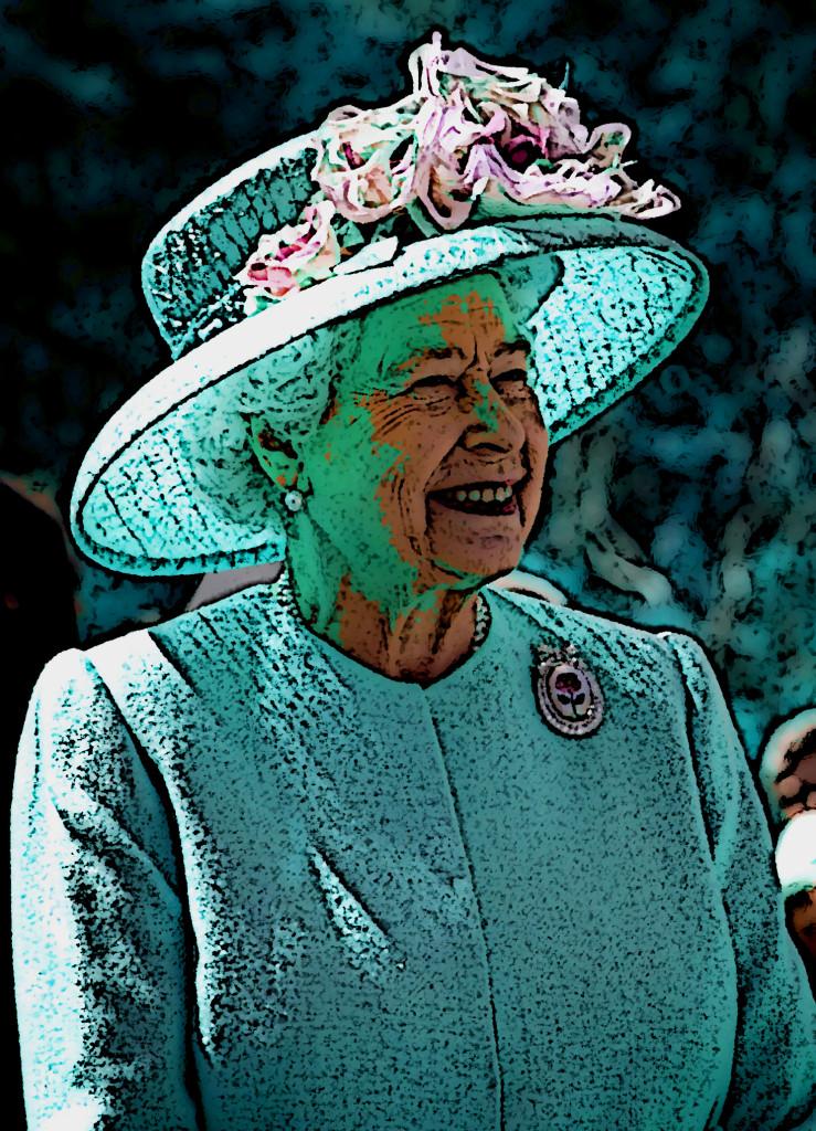 Regina Elisabetta pop