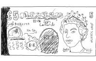 Pound disegno